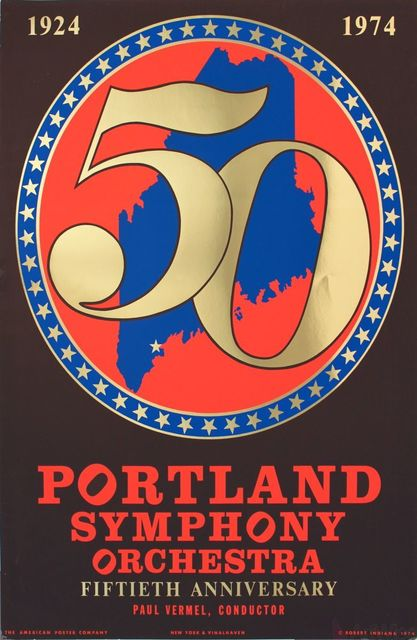 , 'Portland Symphony Orchestra 50th Anniversary,' 1974, ArtWise