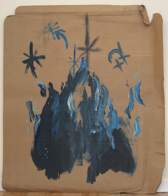 , 'Portrait of Blue Fire,' 2017, Robert Kananaj Gallery