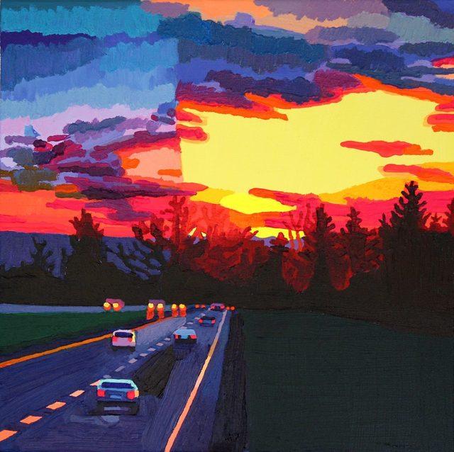 , 'Highway at Dusk,' 2018, Studio 21 Fine Art