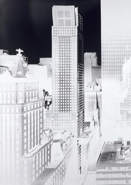 Vera Lutter, '745 Fifth Avenue, New York City: September 29', 1995, Phillips
