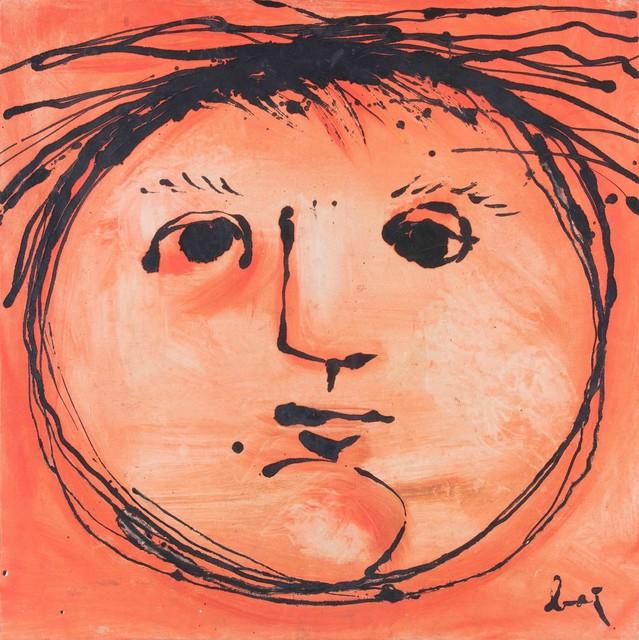 Enrico Baj, 'Testa solare', 1953, Cambi