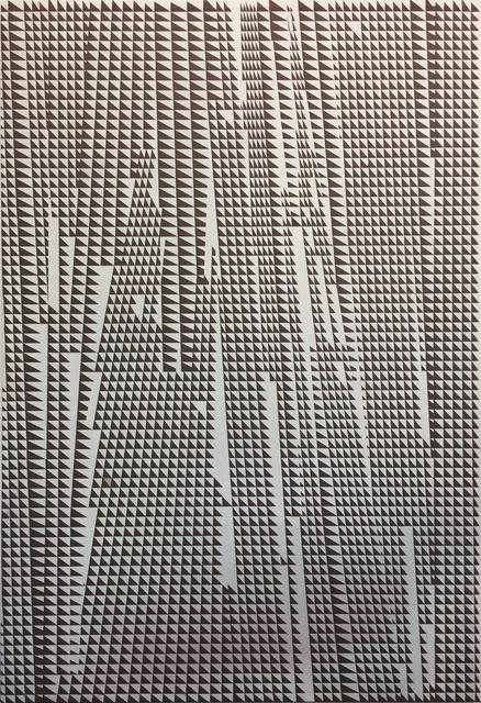 , 'Triangulacion Sepia,' 2018, Maddox Arts