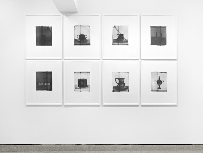 Install shot of Cornelia Parker's Thirty Pieces of Silver (Exposed), on view at Barbara Krakow Gallery.