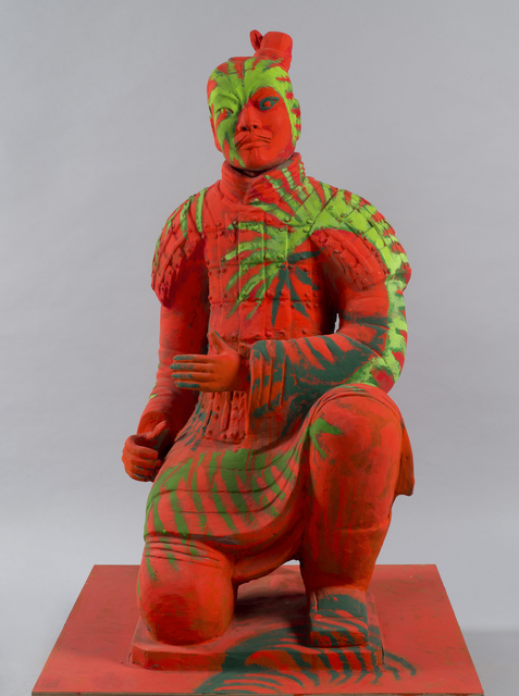 Sandro Chia, 'Arciere', 2010, Sculpture, Polychrome Terracotta, AreaB