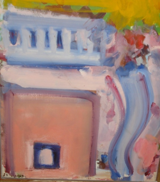 , 'Pink Building at Yaddo,' , Crane Kalman Gallery