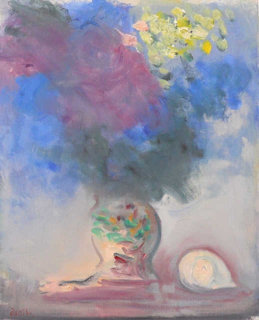 , 'Hydrangea and Shell,' 2015, Bookstein Projects