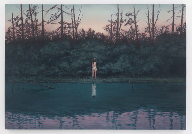 Motohide Takami, 'XX', 2014, Painting, Oil and chalk on panel, SEIZAN Gallery