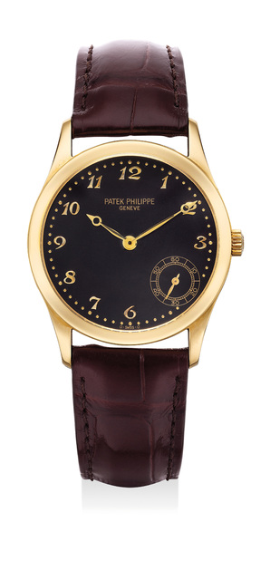 Patek Philippe, 'A fine and attractive yellow gold wristwatch with small seconds and Breguet numerals', 1998, Phillips