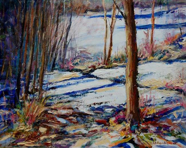 William Vincent Kirkpatrick, 'Snow Silence', Baterbys Art Gallery