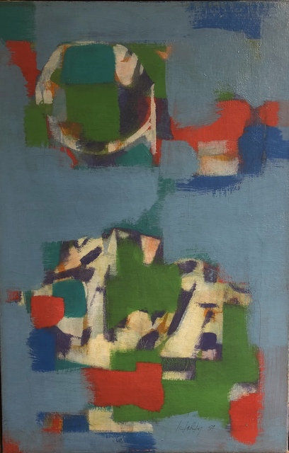 Carl Holty, 'Untitled Abstraction', 1959, F.L. Braswell Fine Art