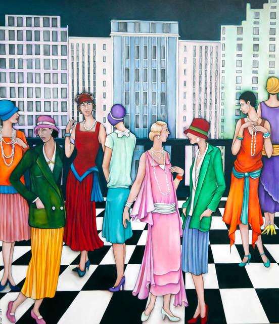 Lauryne Hart, 'Ladies Day', 2019, Black Door Gallery