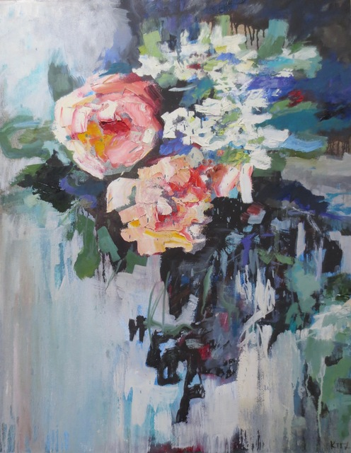 , 'Roses and Stephanotis,' 2018, Seager Gray Gallery