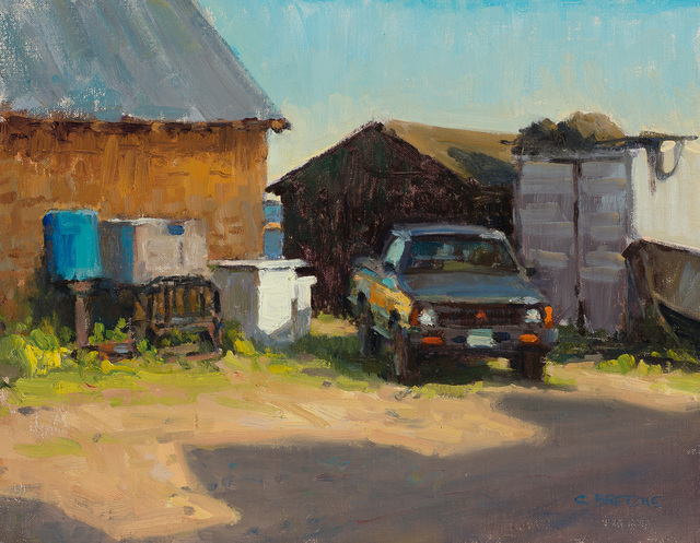 , 'Harley's Old Truck,' 2015, Susan Calloway Fine Arts