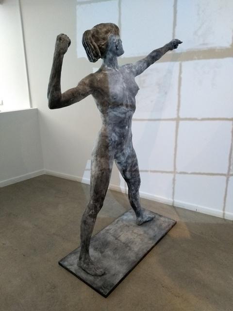 , 'Backstage (figure I),' 2018, Juan Silió