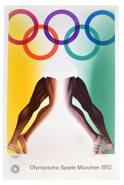 , 'Olympische Spiele München,' 1972, Sims Reed Gallery