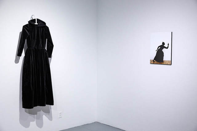 , 'Black Dress / Silhouette II ,' 2016, EFA Project Space