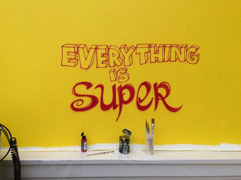 """SuperSub - on collectivism"" at Den Frie Centre of Contemporary Art, Copenhagen (2016)."