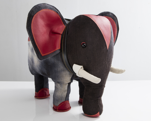 ", '""Therapeutic Toy"" Elephant,' 2016, R & Company"