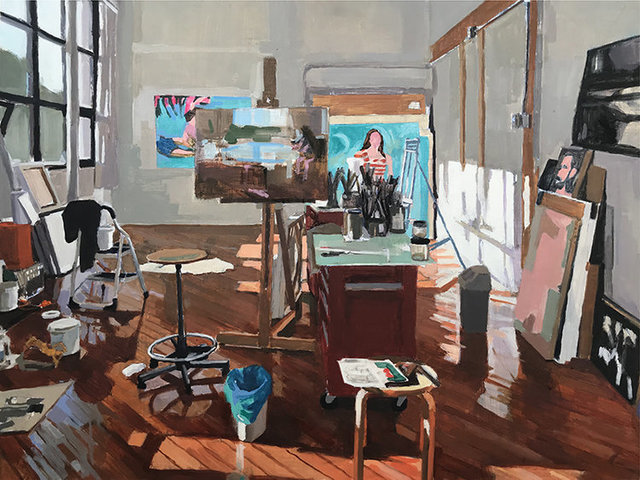 Aaron Hauck, 'Studio Afternoon', 2018, Deep Space Gallery