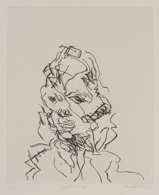 Frank Auerbach, 'Catherine', 1989, Ben Uri Gallery and Museum