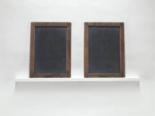 Vija Celmins, 'Blackboard Tableau #8 (Edward)', Christie's