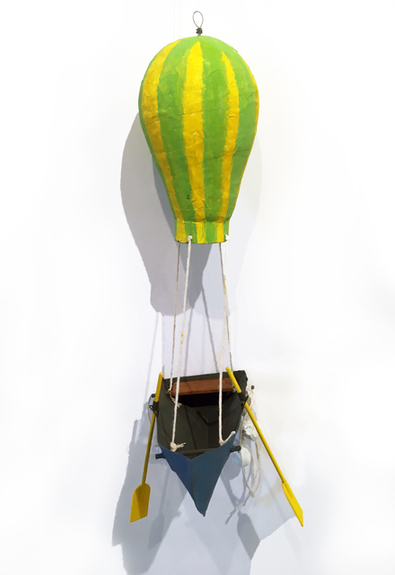, 'Balloon Boat (yellow/green stripes),' 2020, BoxHeart