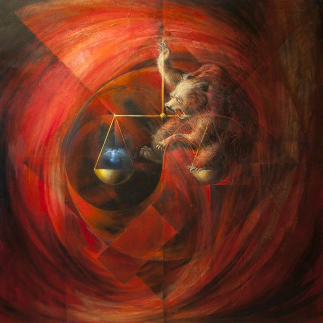 , 'The Tiny Bird and the Bear,' 2010-2015, Ronald Feldman Fine Arts