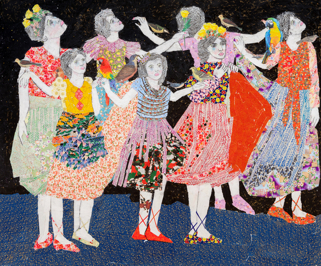 , 'The Celebration II,' 2015, Praxis