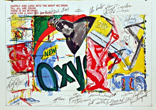 James Rosenquist, 'OXY  (from 1 Cent Life Portfolio)', 1964, Alpha 137 Gallery