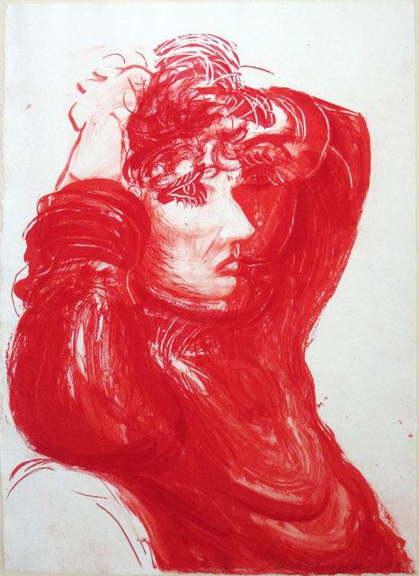 David Hockney, 'Red Celia', 1984, Kings Wood Art