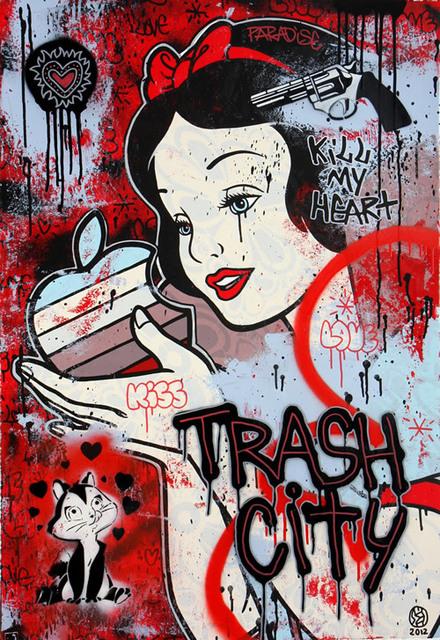 Speedy Graphito, 'Trash City ', 2012, Denis Bloch Fine Art