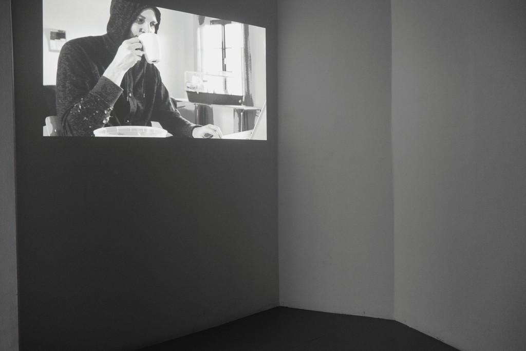 """exhibition #3: """"It's a Mügge life"""", video, Sebastian Mügge (Umea, SE)"""