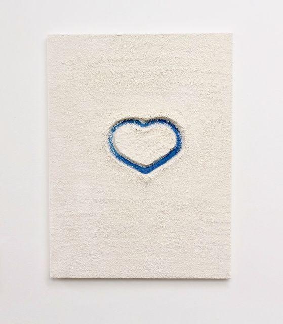 , 'Light Blue Heart,' 2014, ABXY
