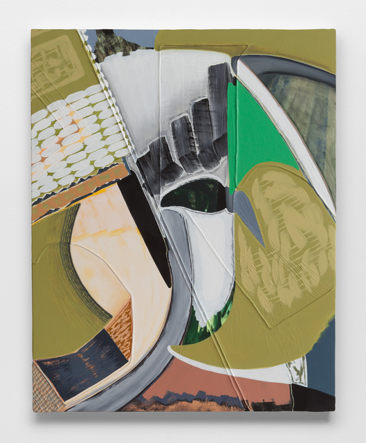 Magalie Guérin, 'Untitled (res 1.3)', 2019, Painting, Oil on canvas on panel, Galerie Nicolas Robert