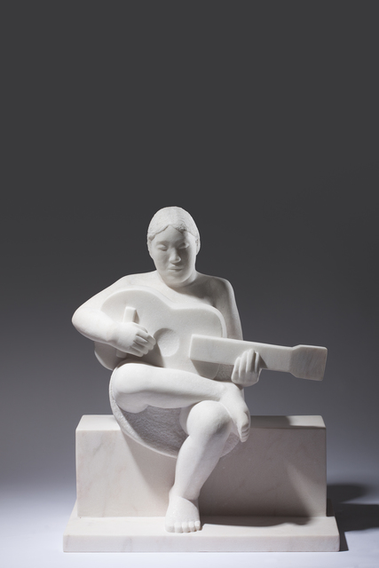 , 'Woman Playing Guitar,' 2015, Gallery LVS