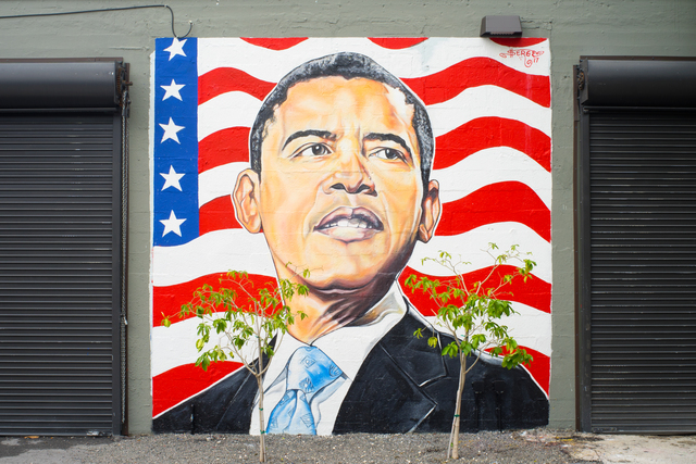 , 'President Barack Obama,' 2017, Spinello Projects