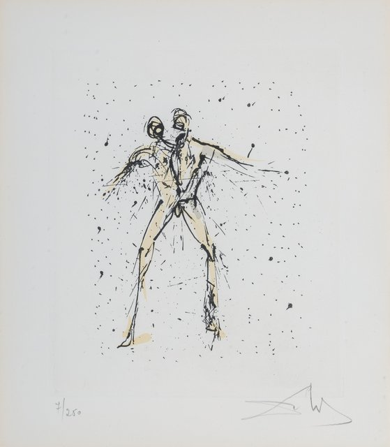 Salvador Dalí, 'Gemini, from The Zodiac II', 1975, Heritage Auctions