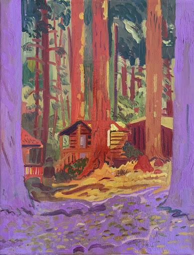 , 'Redwoods,' 2019, 1969 Gallery