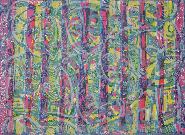 , 'Spirits Watching II (AP),' 1986, Greenhut Galleries