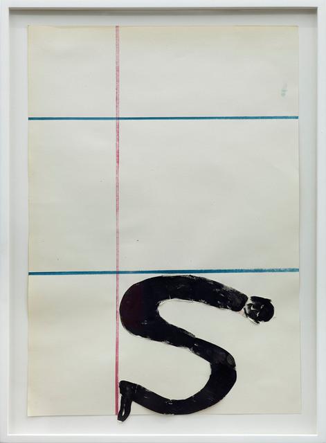 , 'S,' 2013, Dawid Radziszewski