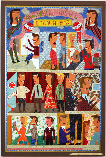 , 'Awkward Social Encounters,' 2007, Antieau Gallery