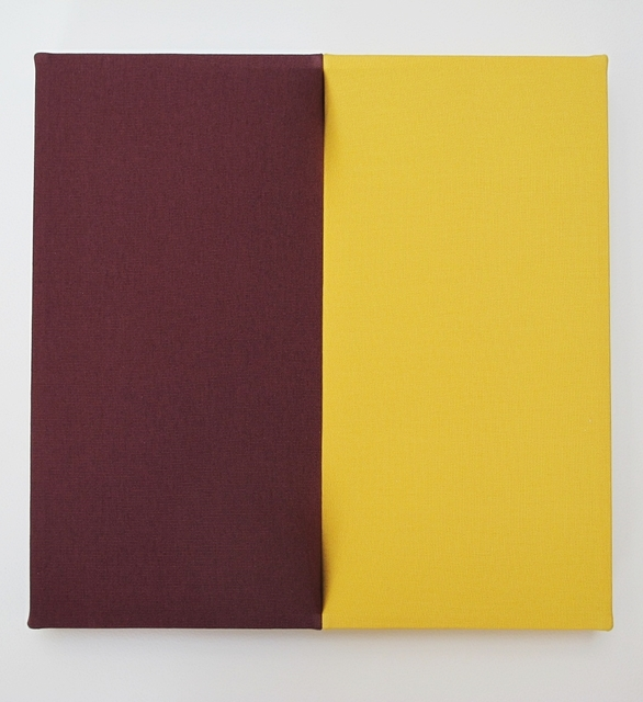 , 'wine red and yellow,' 2016, Arario Gallery