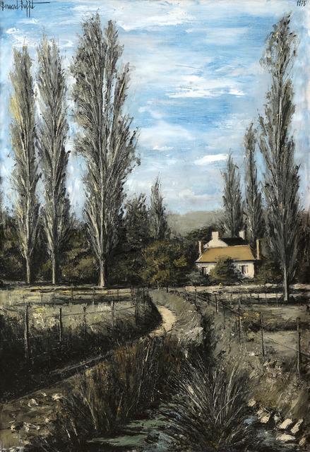 Bernard Buffet, 'Sainte-Marie, le petit château, Yonne', 1975, HELENE BAILLY GALLERY