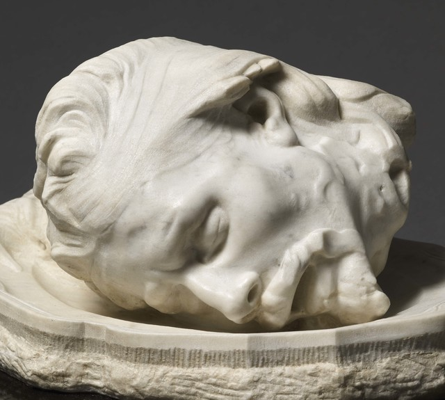 , 'Head of John the Baptist,' Conceived in 1887, Daniel Katz Gallery