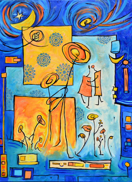 , 'Life's Dance,' 2018, Fountain Street
