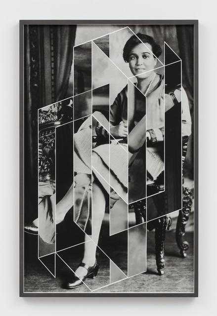 , 'Constellations (Jessie Redmon Fauset),' 2018, Hales Gallery