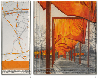 Christo, 'The Gates (Project for Central Park, NYC),' , Sotheby's: Contemporary Art Day Auction