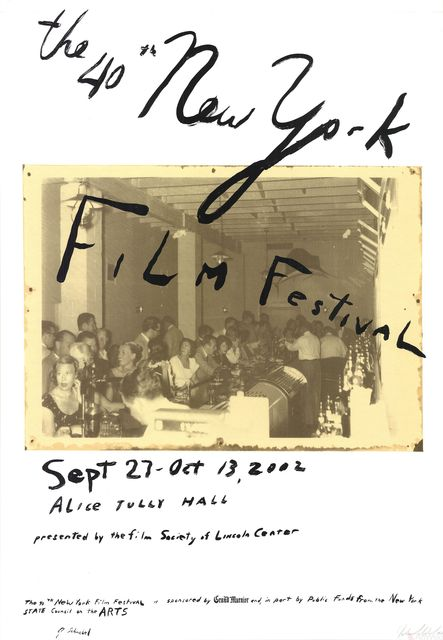 Julian Schnabel, 'The 40th New York Film Festival', 2002, ArtWise