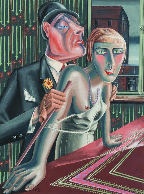 , ''Paar',' 1934-1935, Galerie Valentien