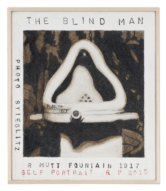 , 'The Blind Man,' 2015, Castelli Gallery
